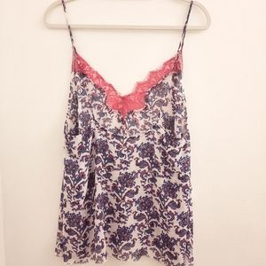 Free People Intimately Floral Cami size Large